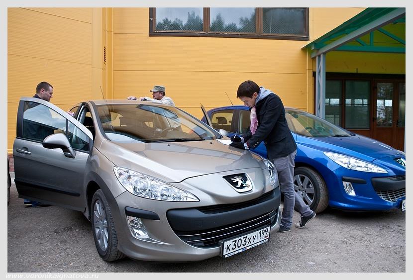 Автопробег Peugeot Москва-Калуга-Москва (8-9 сентября 2010 г). ЧАСТЬ ВТОРАЯ