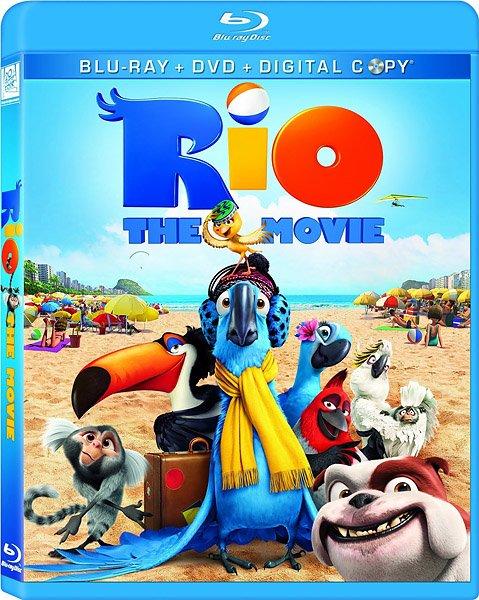 Рио / Rio (2011/BDRip 720p/HDRip)