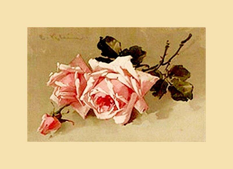 К. Кляйн. 46. Розы.