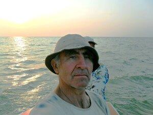 На яхте, Азовское море