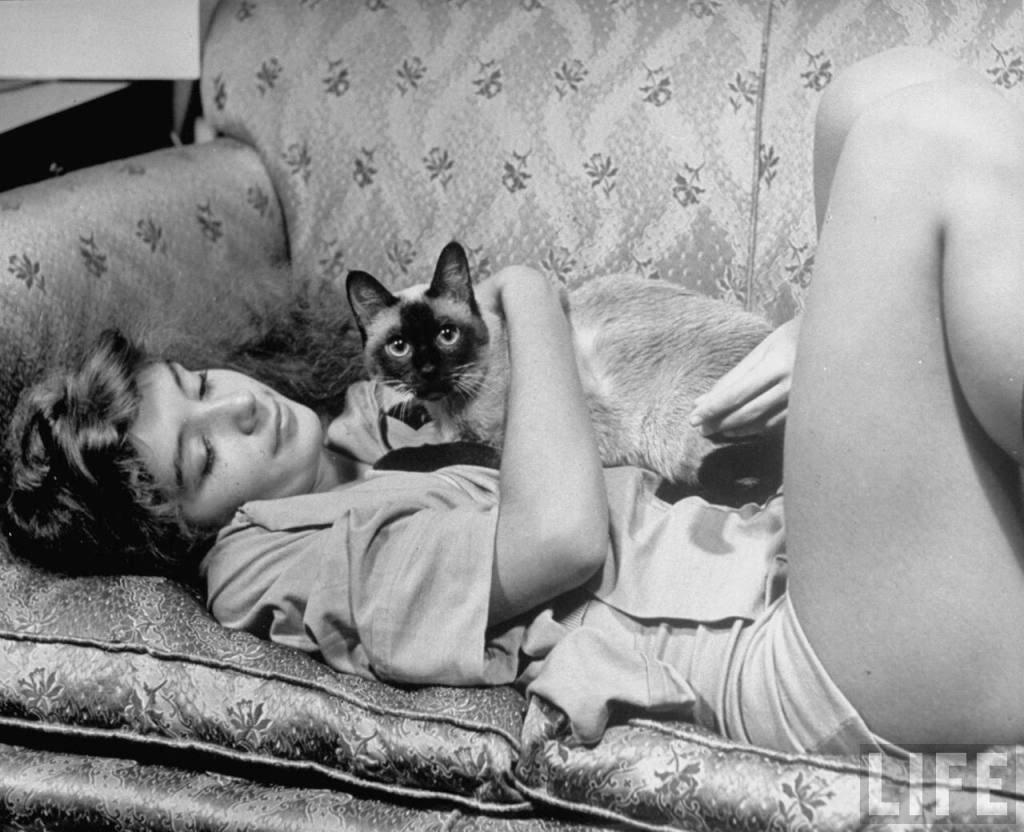 ballerina Edwina Seaver ,Photographer:Alfred Eisenstaedt,1940