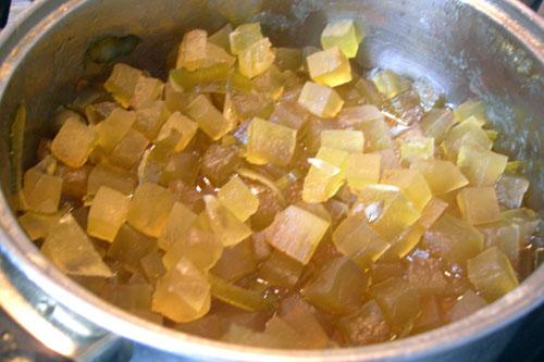 Цукаты из арбузных корок фото рецепт