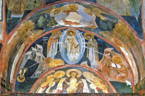 Боянская церковь в Софии наследие ЮНЕСКО свод