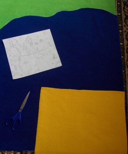 Детский развивающий коврик... остров
