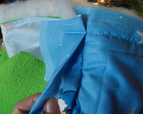 Развивающий коврик своими руками... окантовка края... пошаговые инструкции по шитью