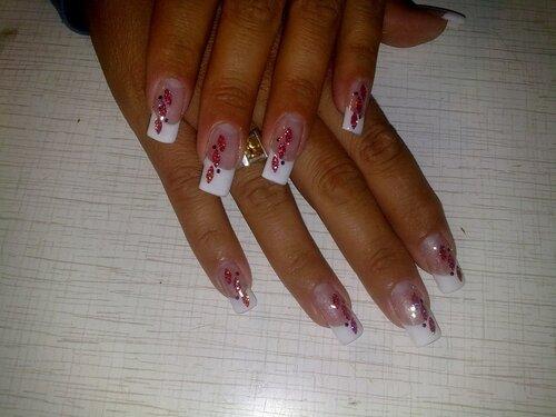 Фольга в дизайне ногтей мастер класс