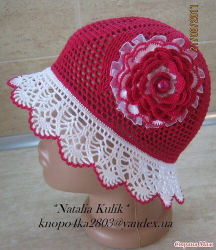 Free Crochet Pattern For Childs Owl Hat : gift presents for kids: summer hat, free crochet patterns ...