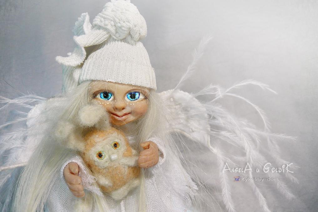 Куклы ангелы сделанные