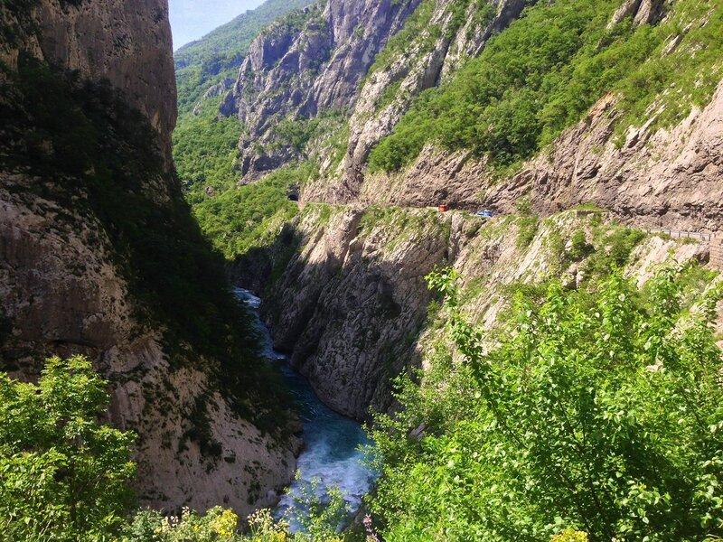 Каьон Морачи, Черногория