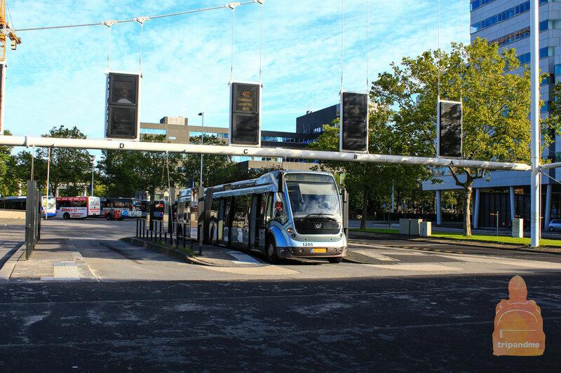 Автобусная и железнодорожная станция расположены в одном месте
