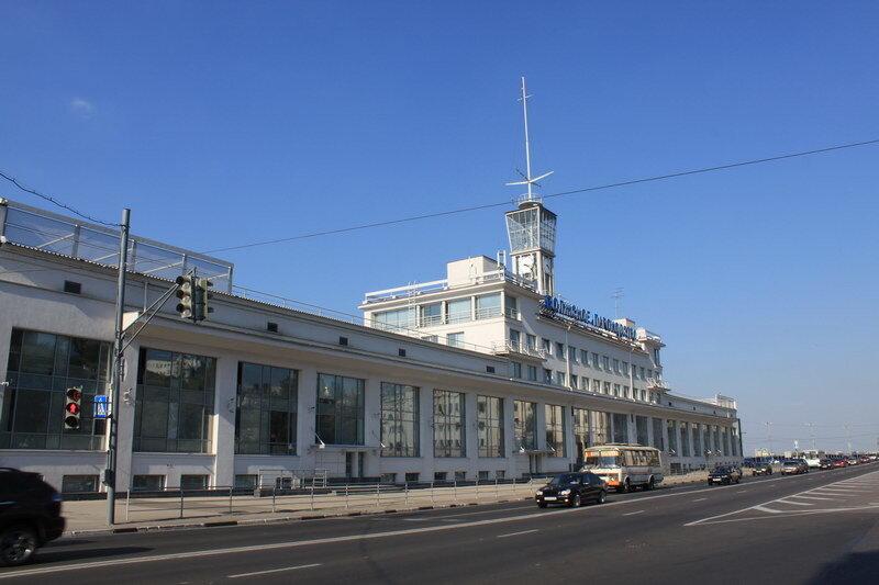 Нижегородский Речной Вокзал.