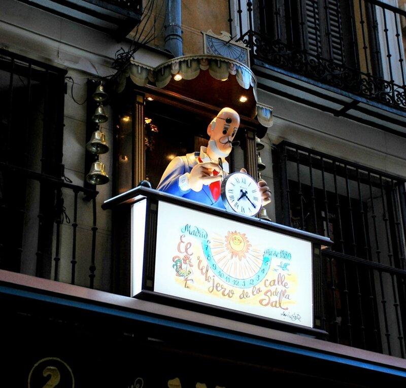 часы Мадрид