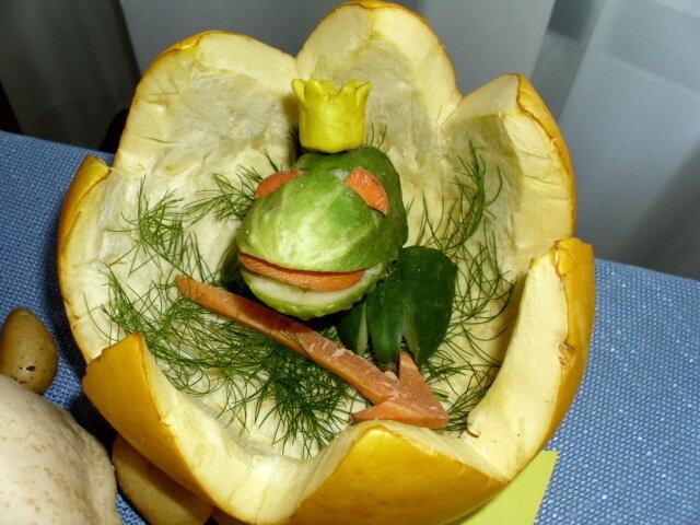 Поделки из овощей своими руками фото