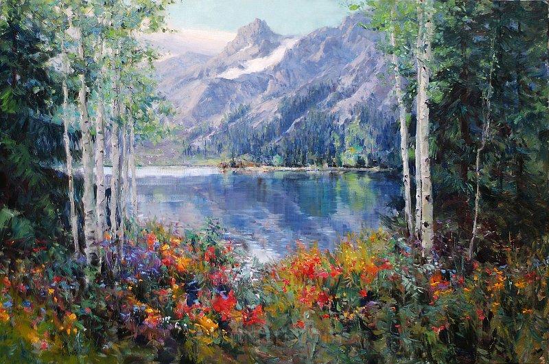 Великолепные пейзажи Ericа Wallisа
