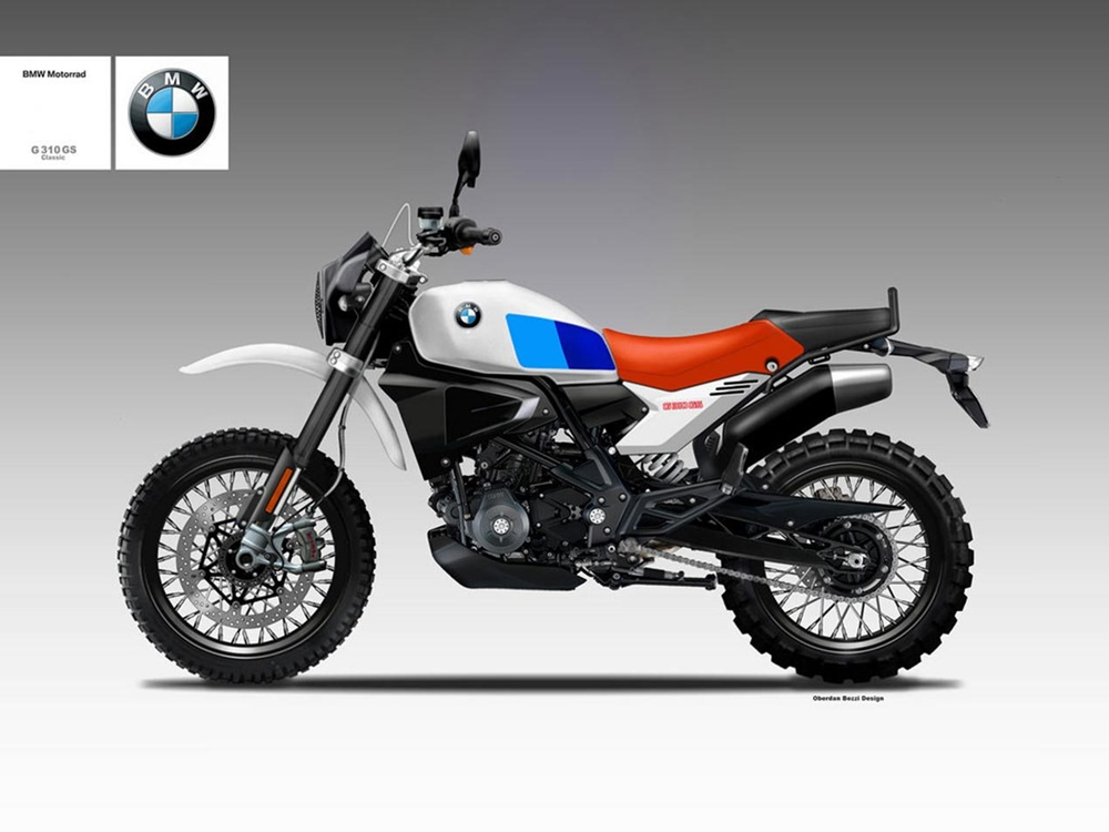 Обердэн Бецци: концепт скрэмблера BMW G310