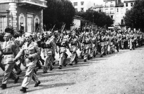 Легионеры в Ле-Пюи
