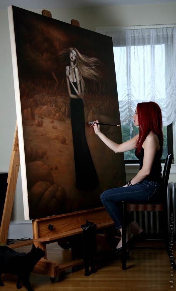 Необычные образы художницы Lori Earley