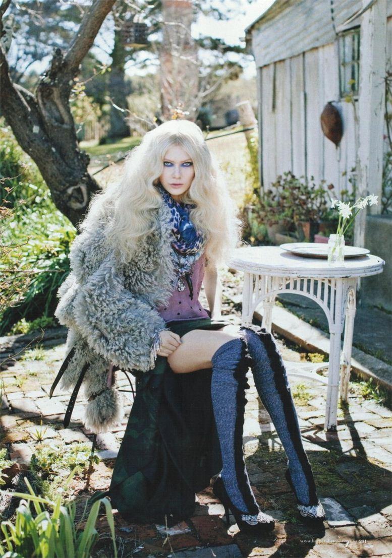 модель Натали Хокей / Natalie Hockey, фотограф Derek Henderson