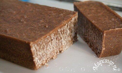 """""""Шоколадный сахар"""" - мыльно-сахарный скраб"""