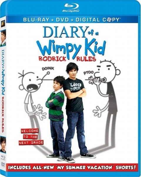 Дневник слабака 2 / Diary of a Wimpy Kid: Rodrick Rules (2011/BDRip/720p/HDRip)
