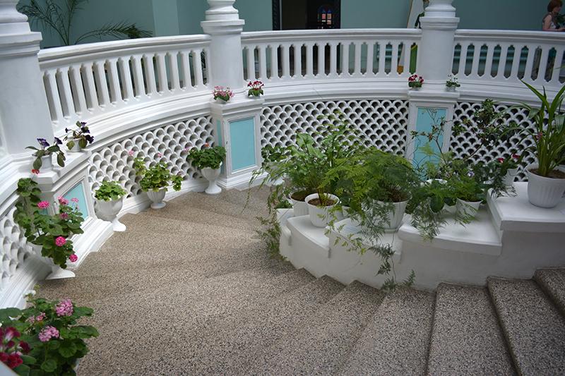 зимний сад лестница
