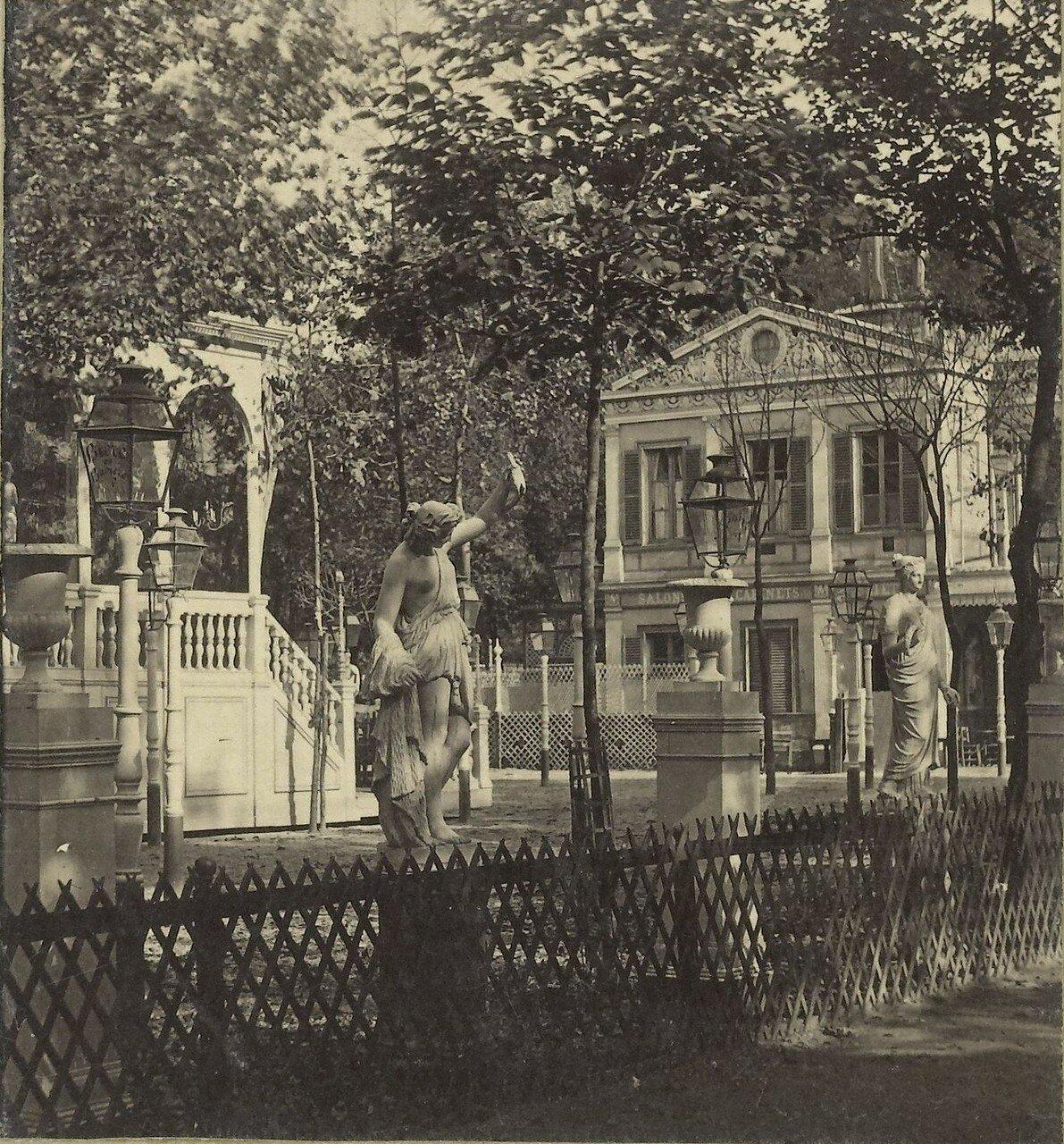 1855. Кафе лос-Кампос на Елисейских полях