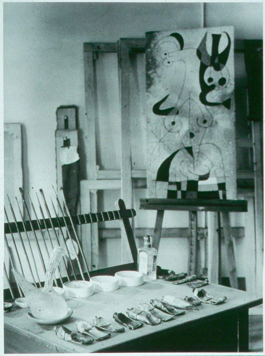 1950. Рабочие инструменты Жоана Миро
