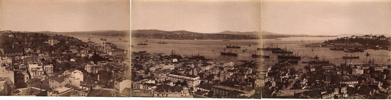 1880. Панорама Босфора