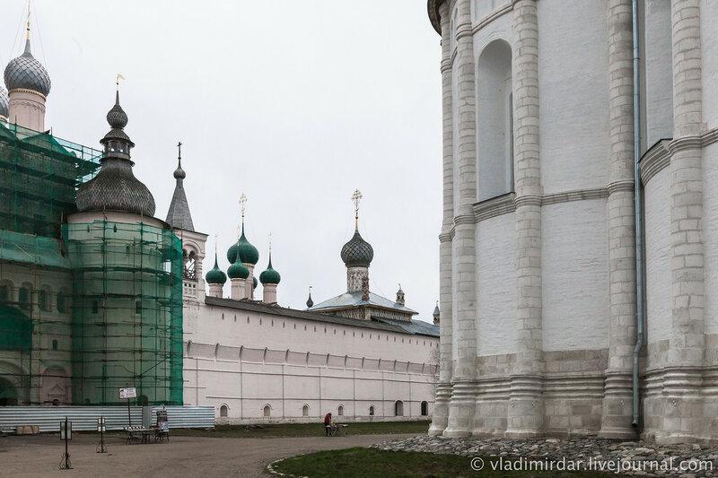 Соборная площадь. Ростовский кремль.