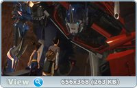 Трансформеры Прайм: Повышение темноты / Transformers Prime: Darkness Rising (2011) DVDRip