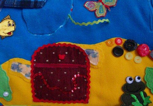Развивающий коврик для детей Моулвиль... остров, сундук с сокровищами