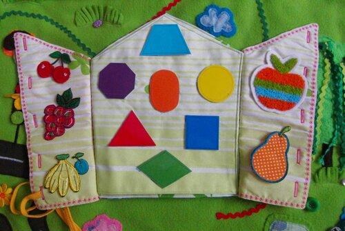 Развивающий коврик Моулвиль...волшебный игровой домик... авторская ручная работа