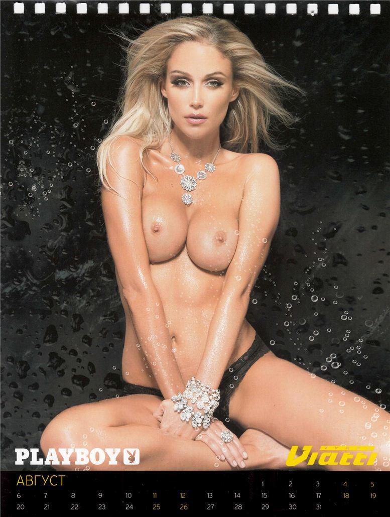 календарь журнала Playboy на 2012 год - модель Tracy McGregor