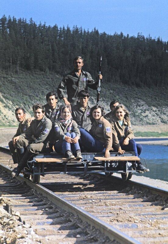 Стройотрядовцы, 1970-е