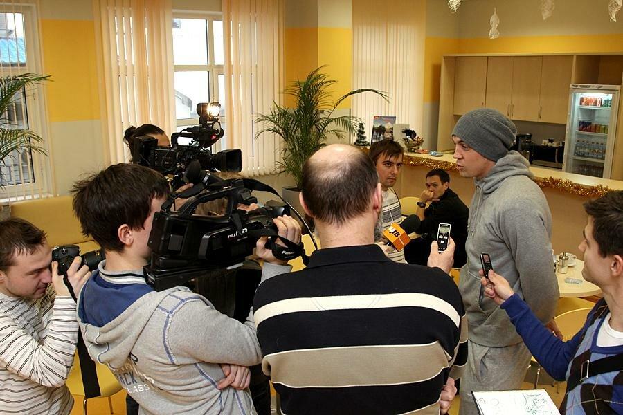 «Спартак»: Россияне прошли медобследование (Фото)