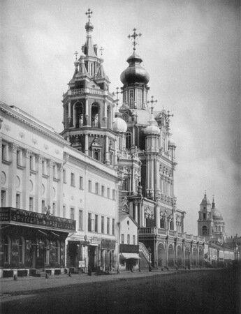 Храм Успения Пресвятой Богородицы на Покровке, построен в 1696-1699 гг.