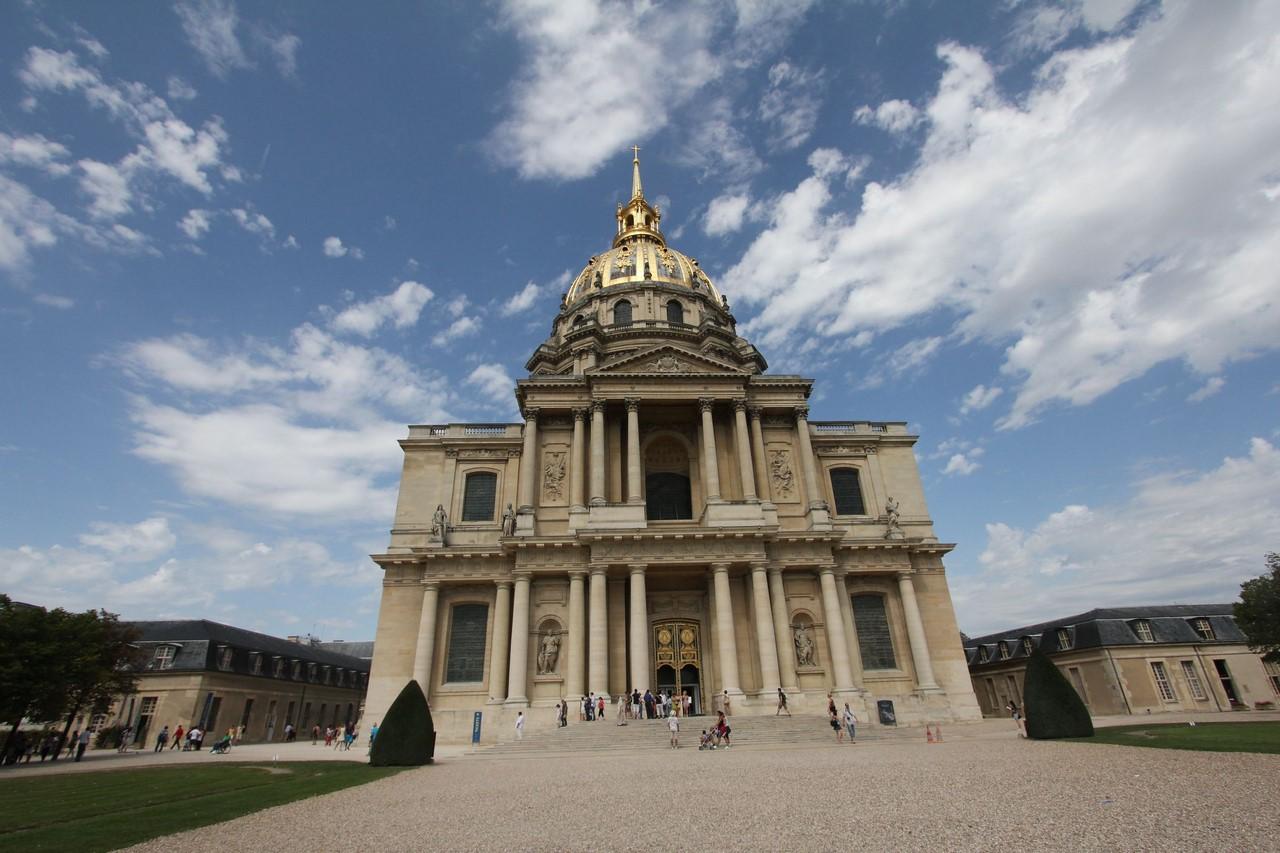 Обои Государственный Дом Инвалидов, купол, Инвалиды. Города foto 16