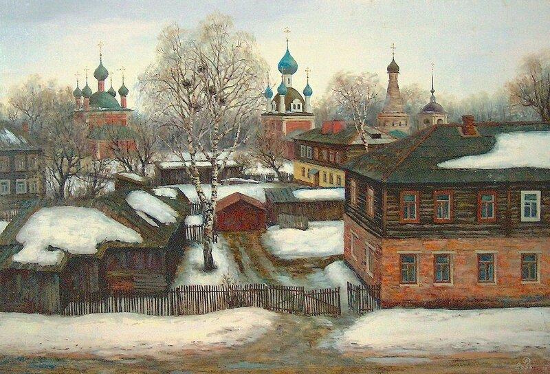 Олег Анастасов. Апрель. Переславль