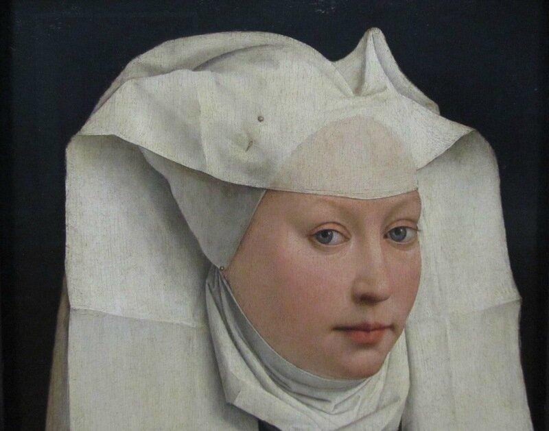 Рогир ван дер Вейден. Потрет молодой женщины. 1440/45