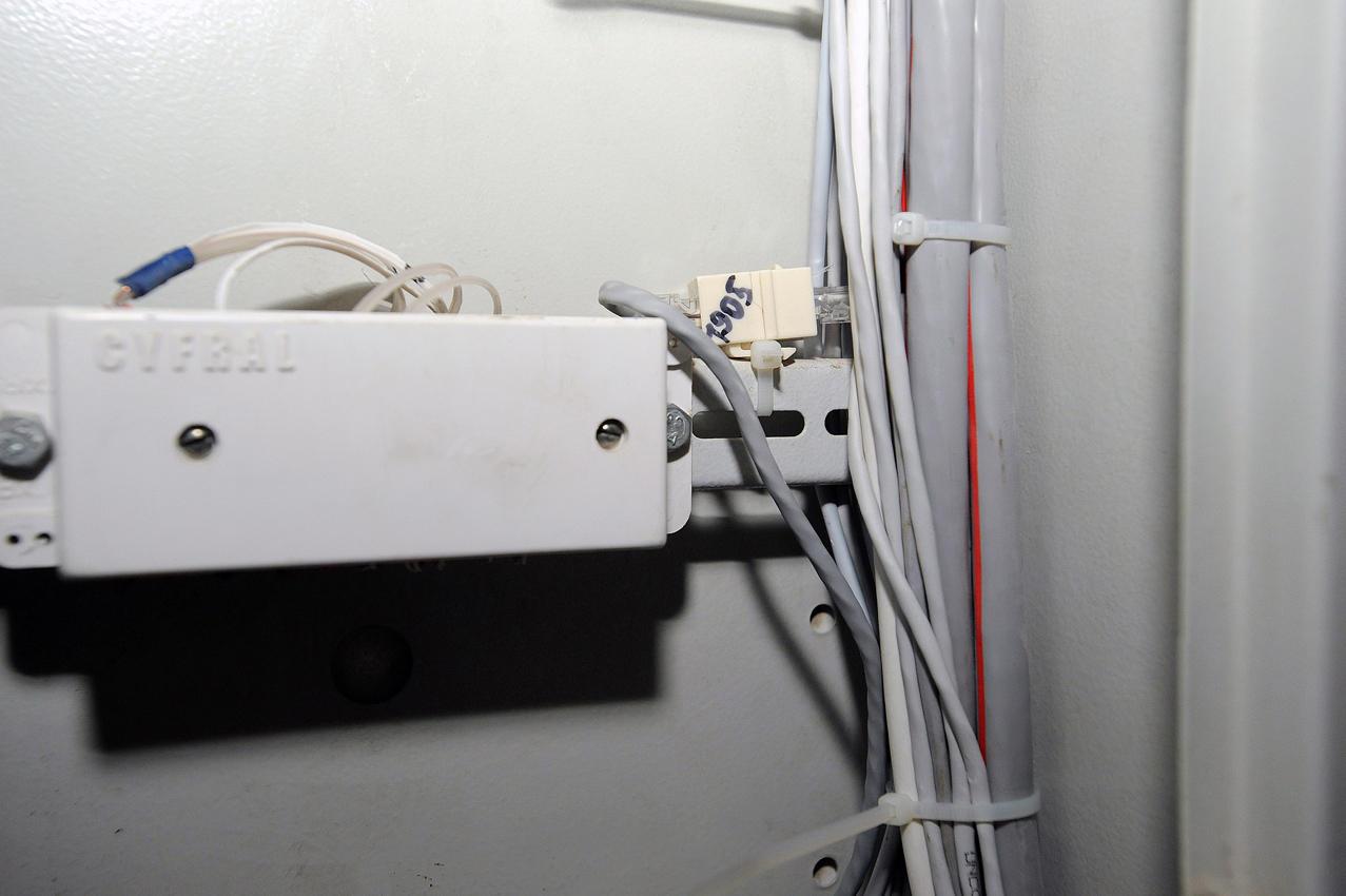 28. Кроме того, кабелю присваивается имя — номер квартиры, чтобы в случае поломки или неисправности