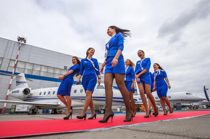 Jet Expo 2015: новинки бизнес авиации (51 фото)