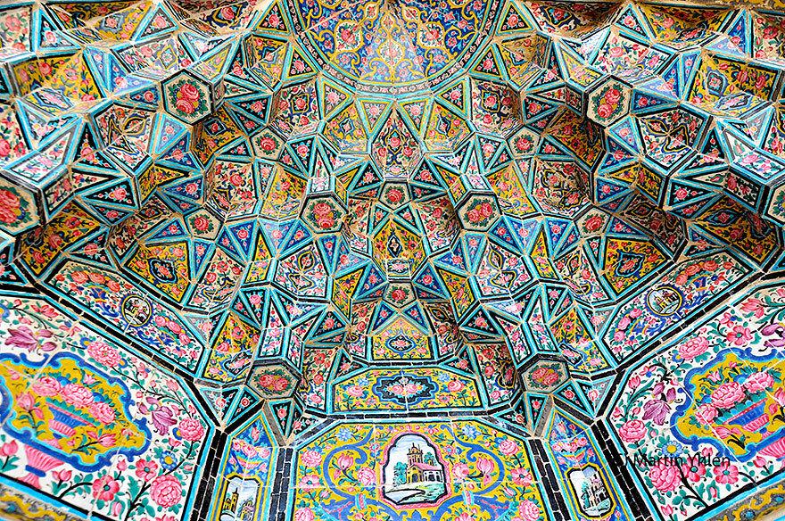 Иран, Шираз, Масджид-е Насир-ад-Мульк (Насир аль-Мульк Мечеть), исламской архитектуры