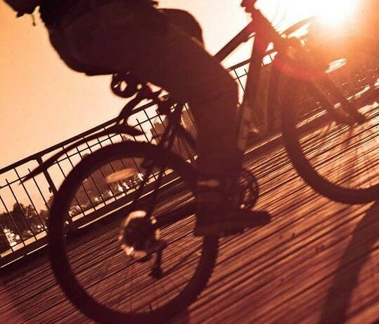 Приколы нашего городка: Угадай велосипедиста
