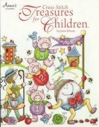Книга Cross-Stitch Treasures for Children
