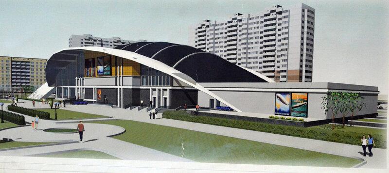 Молодой полет архитектурной фантазии Невидимый город Менее масштабные проекты курсовые работы вот например серия крытых рынков