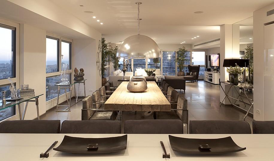 Интерьер квартиры от Lanciano Design в Тель-Авиве, Израиль