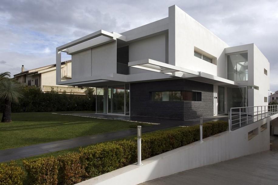 Белоснежная Villa PM в Рагузе, Италия