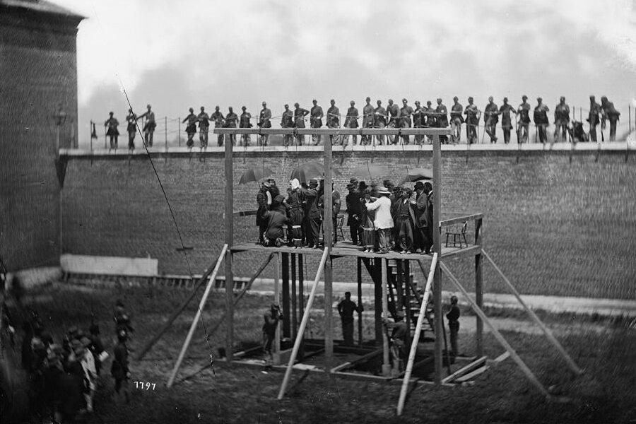 Июля 1865 казнь организаторов