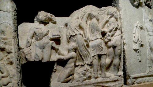Барельефы Хиераполиса (Памуккале)