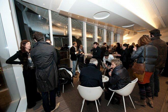 Ресторан Cube Electrolux в Милане
